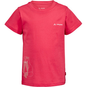 VAUDE Lezza T-Shirt Enfant, bright pink